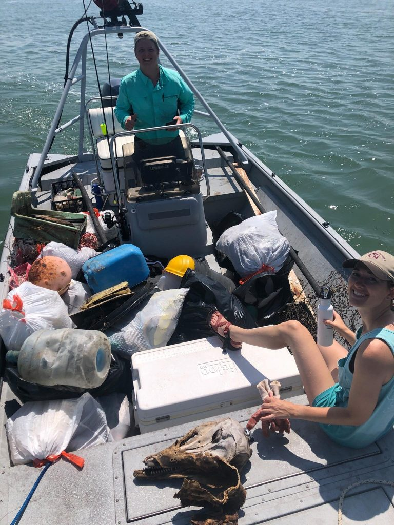 Chris Dobsky On Boat