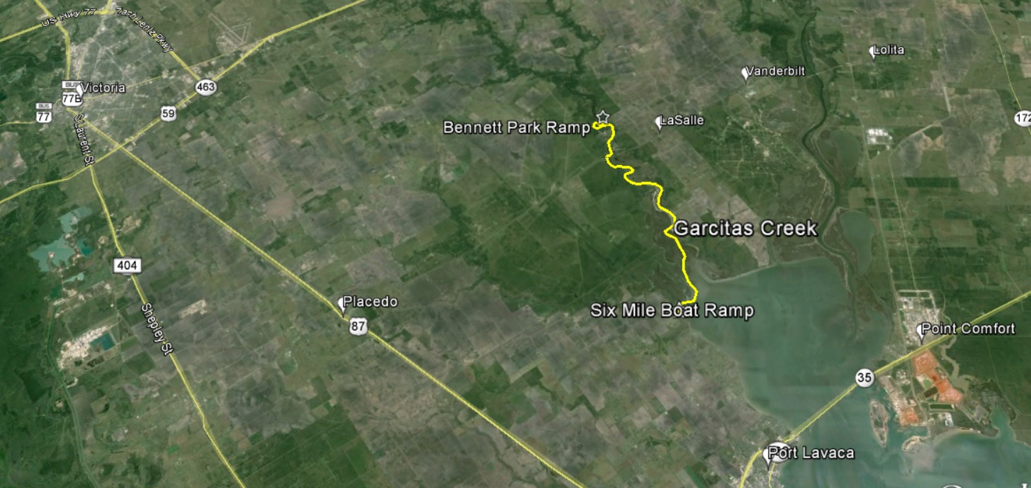 Garcitas Creek Route