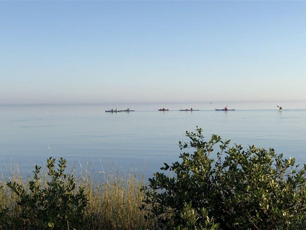 Paddling Matagorda Bay to Powderhorn Lake