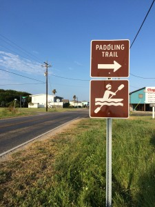 Paddling Trail Sign 2015-08-19